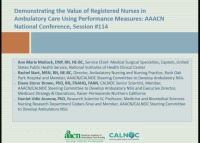 Demonstrating the Value of Registered Nurses in Ambulatory Care Using Performance Measures
