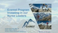 Investing in Our Nurse Leaders: The Everest Program