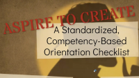 Aspire to Create a Standardized Competency-Based Orientation Checklist icon