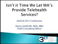 Isn't It Time We Let MAs Provide Telehealth Services? icon
