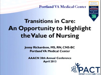 Transitions in Care: An Opportunity to Highlight the Value of Nursing icon