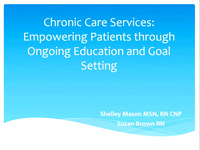 Empowering Patients Through Ongoing Education and Goal Setting
