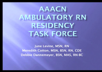 AAACN's RN Residency Task Force: From Concept to Implementation icon