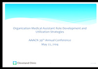 Organization Medical Assistant Role Development and Utilization Strategies icon