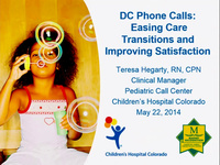 DC Phone Calls: Easing Care Transitions and Improving Satisfaction icon