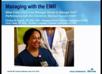 What Every Front Line Nurse Manager Needs to Manage Staff Performance with the Electronic Medical Record (EMR)