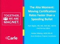The AHA Moment: Moving Certification Rates Faster than a Speeding Bullet!