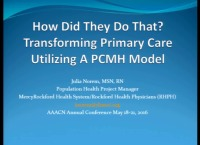 How Did They Do That? Transforming Primary Care Utilizing a PCMH Model of Care icon