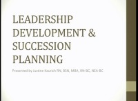 Leadership Development and Succession Planning for the Ambulatory Nurse Manager icon