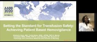 AM20-05: Setting the Standard for Transfusion Safety: One Center's Experience Achieving Patient Based Hemovigilance icon