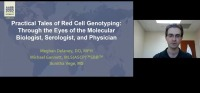 AM20-26: Practical Tales of Red Cell Genotyping: Through the Eyes of the Molecular Biologist, Serologist, and Physician icon