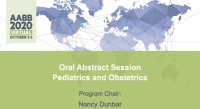 AM20-35: Oral Abstract Session -- Pediatrics and Obstetrics icon