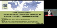 """AM20-38: The Thin Line Between Advancement or Exploitation…the Role of the """"Super Donor"""" in Allogeneic Cell Therapy icon"""