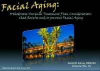 Facial Aging: Orthodontic/Surgical Treatment Plan Considerations that Reverse and/or Prevent Facial Aging icon