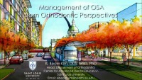 2019 Winter Conference - Management of OSA from Orthodontic Perspectives
