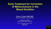 Early Treatment for Class II Malocclusions icon