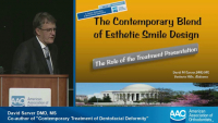 The Contemporary Blend of Esthetic Smile Design: The Role of the Case Presentation icon