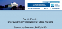 Drastic Plastic: Improving the Predictability of Clear Aligners icon
