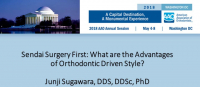 Sendai Surgery First: What are the Advantages of Orthodontic Driven Style? icon
