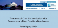 Treatment of Class II Malocclusion with Contemporary Fixed Functional Appliances icon