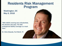 Risk Management for Residents & New Orthodontists