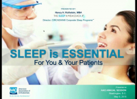 Sleep is Essential: For You & Your Patients icon