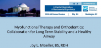 Myofunctional Therapy and Orthodontics: Collaboration for Long Term Stability and a Healthy Airway icon