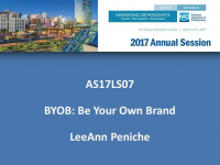 BYOB: Be Your Own Brand