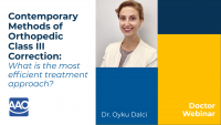 Contemporary Methods of Orthopedic Class III Correction: What is the most efficient treatment approach? icon