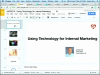 2016 AAO Annual Session - Using Technology for Internal Marketing