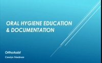 2016 AAO Annual Session - Oral Hygiene Education and Documentation