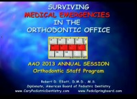 2013 Annual Session - Surviving Medical Emergencies in the Orthodontic Office icon