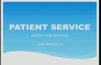 2017 AAO Annual Session - Patient Service Above and Beyond