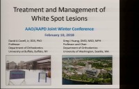 2018 AAO Winter Conf - Treatment & Management of White Spot Lesions / Q & A Session: McTigue, Christensen, Huang & Covell