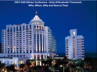 2015 AAO Winter Conf - Early vs Late Class II Treatment:  What Does Science Tell Us? icon