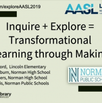 Inquire + Explore = Transformational Learning through Making icon