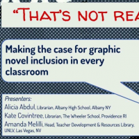 """""""That's Not Real Reading"""": Making the Case for Graphic Novel Inclusion in Every Classroom icon"""