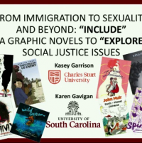 """From Immigration to Sexuality and Beyond: """"Include"""" Graphic Novels to """"Explore"""" Social Justice Issues icon"""