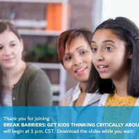 Break Barriers: Get Kids Thinking Critically About Bias icon