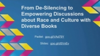 From De-Silencing to Empowering Discussions about Race and Culture with Diverse Books icon