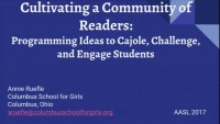 Cultivating a Community of Readers: Literary Programming Ideas to Cajole, Challenge, and Engage Students icon