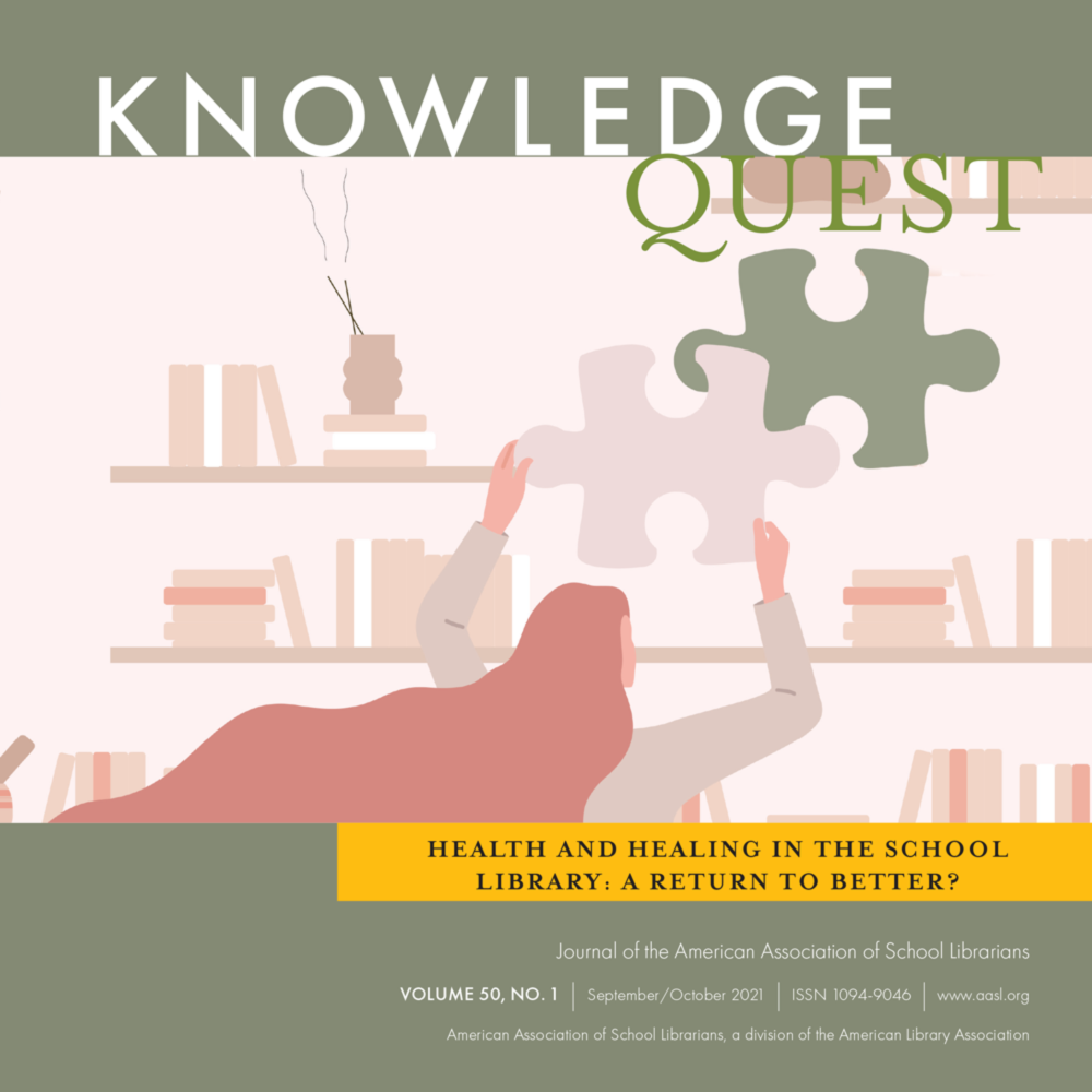 Volume 50, No.1 - Health and Healing in the School Library: A Return to Better? icon