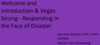 Welcome and Introduction & Vegas Strong - Responding in the Face of Disaster icon