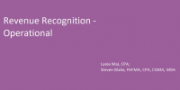 Revenue Recognition - Operational icon