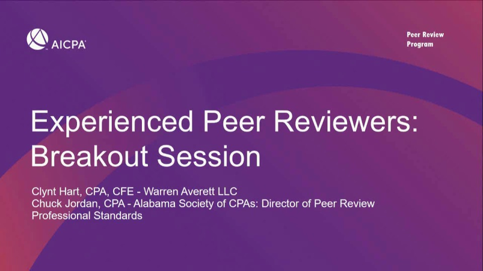 Experienced Peer Reviewers icon