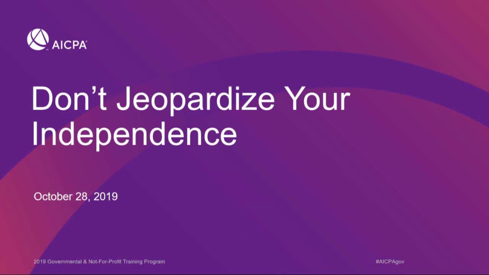 Don't Jeopardize Your Independence icon