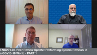 ENG201.08. Peer Review Update: Performing System Reviews in a COVID-19 World - PART 1