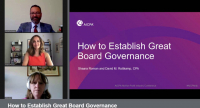 How to Establish Great Board Governance