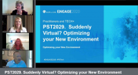 PST2029. Suddenly Virtual? Optimizing your New Environment