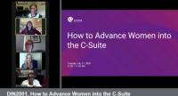 DIN2001. How to Advance Women into the C-Suite